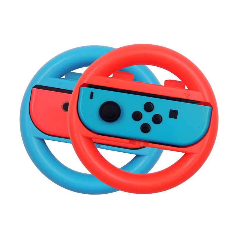 2 PCS Switch Steering Wheel For Nintendo Game Handle Grip Controllers Direction Controller Joystick For Nintend Racing Games