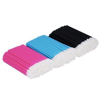 150 Pcs Disposable Lip Brush Makeup Brushes Pen Lipstick Mascara Wands Brush Cleaning Eyelash Cosmetic Brush Applicators 1