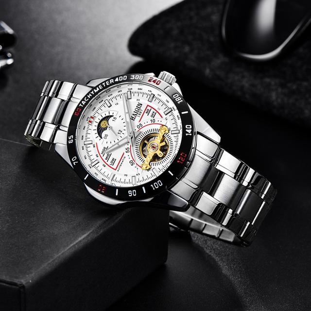 HAIQIN 8603 Business mechanical wristwatch