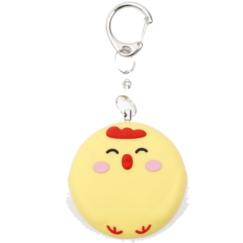 Portable Anti-wolf Alarm Girl lady Personal Portable Outdoor Emergency Call Small Student Keychain Sound Big Security Protection