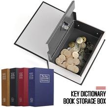 Lock Coin-Storage Jewellery Dictionary-Safe-Box Cash-Money Password-Locker Book-Money-Hidden-Secret