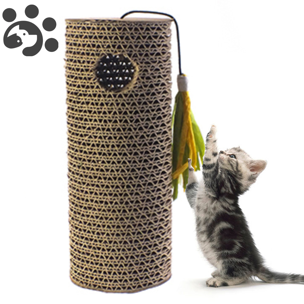 <font><b>Cat</b></font> Scratcher Corrugated Paper Board <font><b>Cat</b></font> <font><b>Tree</b></font> House for <font><b>Cats</b></font> Scratching Post <font><b>Tree</b></font> <font><b>Cats</b></font> Scraper <font><b>Tower</b></font> Toy <font><b>Pet</b></font> Products Gatos image