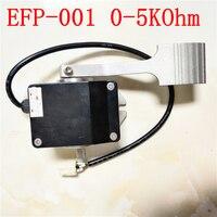 EFP-001 0-5kokm 4 fios comuns plug pé pedais empilhadeira acelerador usando para empilhadeiras ou carros de turismo