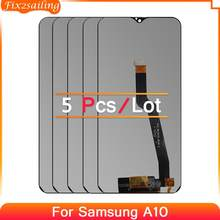5 PCS For Samsung Galaxy A10 A105 A105F SM-A105F LCD Display Touch Screen Digitizer Assembly Replacement For Samsung A105
