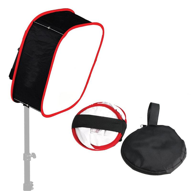 Universal Foldable Photograph Collapsible Portable Softbox Diffuser For LED Soft Light Photo Studio Accessories
