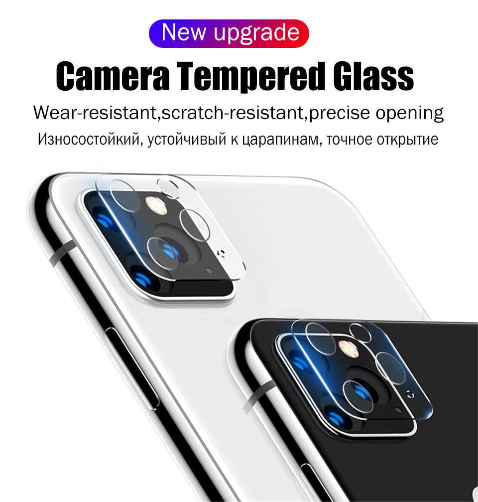 Full Cover For iPhone 11 Screen Protector 7 8 Plus Hydrogel Film For iPhone 11 Pro Back Film XR XS MAX X Camera Tempered Glass