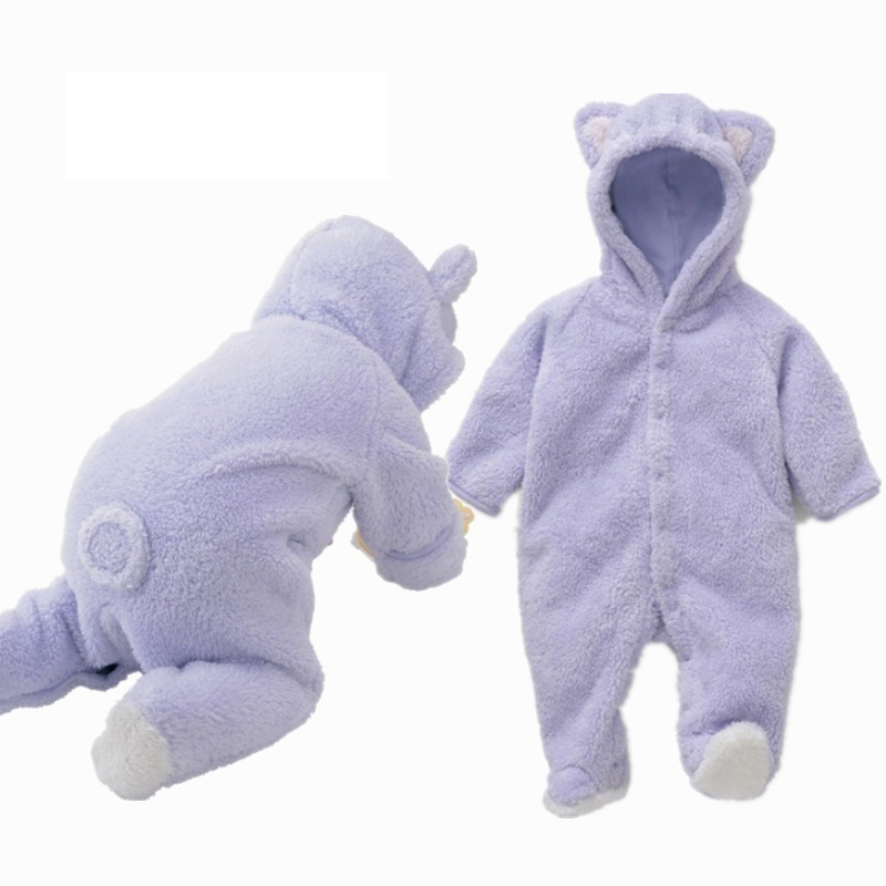 2020 Newborn Cartoon Baby Clothes Infant Baby Romper Infant Girl Spring Autumn Cute Boy Baby Bear Romper Kid Jumpsuit Clothing