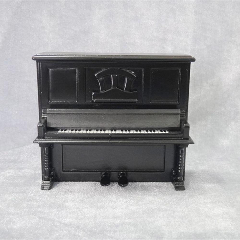 Miniatur Piano Pianino Mini Musikinstrument Dekoration