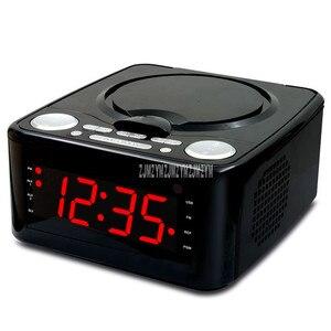 A8 Mini lecteur CD lecteur CD haut-parleur stéréo télécommande multifonctionnelle MP3/U lecteur de disque FM Radio réveil fonction de synchronisation