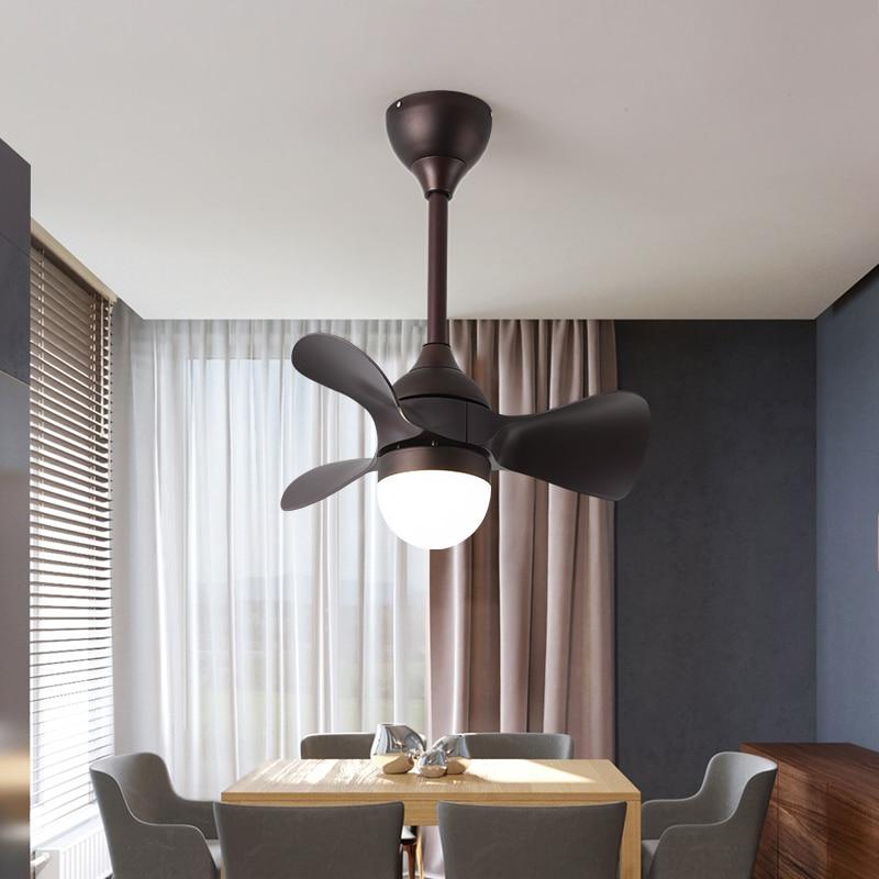 20inch Kids Led Ceiling Fan With Lights Remote Control Ventilator Lamp Home Fixture Silent Motor Fans Bedroom Decor Modern