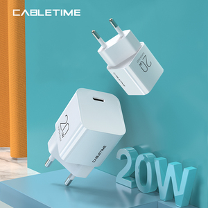 Image 1 - CABLETIME شاحن USB PD 20W QC 4.0 3.0 سريع الشحن ، متوافق مع iPhone 12 Pro Max iPad pro Xiaomi Mini Quick Charger N425