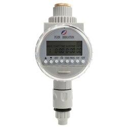 Do podlewania ogrodu słonecznego czasowy wyłącznik przepływu wody automatyczne podlewanie nawadniania System kontrolery Lcd cyfrowy zegar nawadniania w Zestawy do podlewania od Dom i ogród na