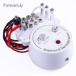 Foreverlily Diamond Microdermabrasion Dermabrasion Machine Water Spray Exfoliation Beauty Machine Wrinkle Face Peeling Machine