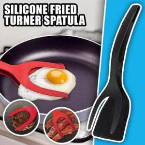 Egg-Toast Spatula Spoon Omelette Flip-Clip Kitchen-Accessories Pancake Fried with Two-In-One