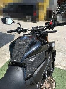 Image 5 - Motorcycle Tank Pad Sticker For Honda CB650R CBR650R Oil tank Protector Anti slip tank grip Decals