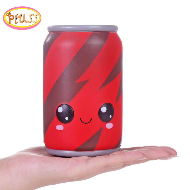 Kawaii Stress Relief Toy Big Cans Squishy Simulation Slow Rising Fashion Squeeze Toy Sweet Scented Original Package For Kid Toy