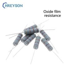 20Pcs 5W 0R-22M Oxide Film Set Of Resistor 5% Tolerance 100K 330K 680K 1M 2M 2.7M 3M 3.9M 15M 22M 10 ohm Electronics Resistance