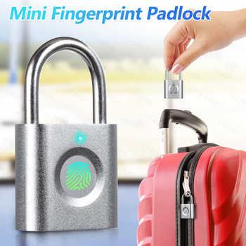 KERUI P3 Mini Anti-theft Intelligent Smart Security Fingerprint Padlock Suitcase Luggage Door Electric Electronic Lock Keyless