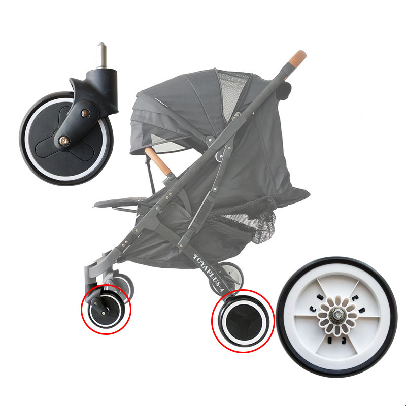 UNIVERSAL WHEELS COVER FOR PRAM BUGGY PUSHCHAIR FRONT REAR PROTECTION 1 2 3 or 4