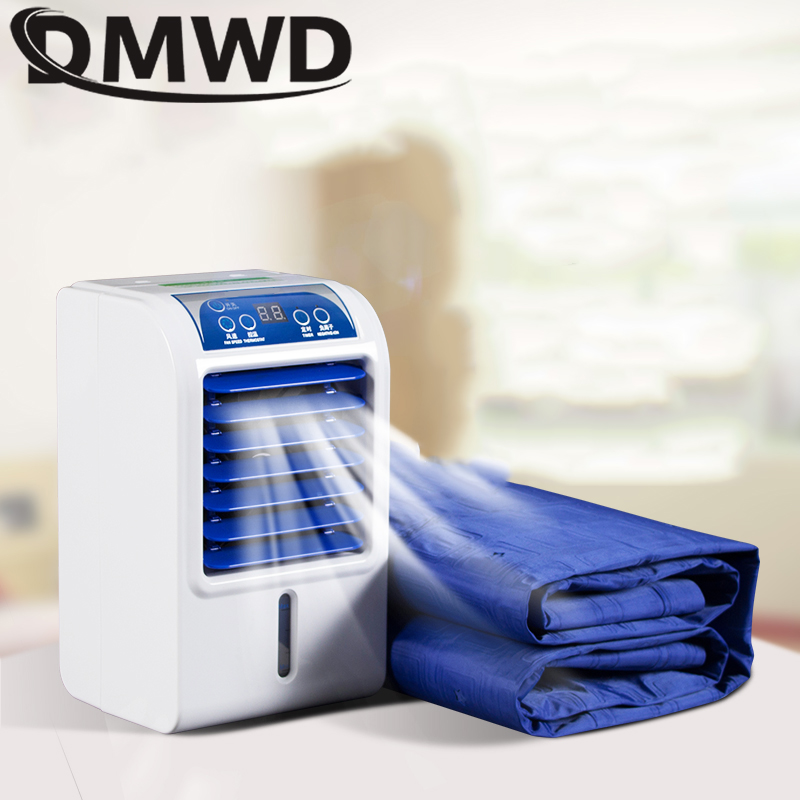 DMWD Hostel Refrigeration Air Conditioning Fan Single Cold Type Conditioner Cooling Fan Cooler Pad Cooling Water Cooler Mattress