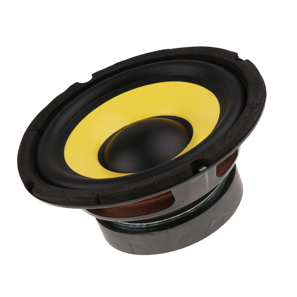 6.5 Inch 50W Car Audio Stereo Horn Subwoofer Bass HIFI Speaker 4 Ohm Impedance Magnet 100 Auto Truck RV Woofer Loudspeaker