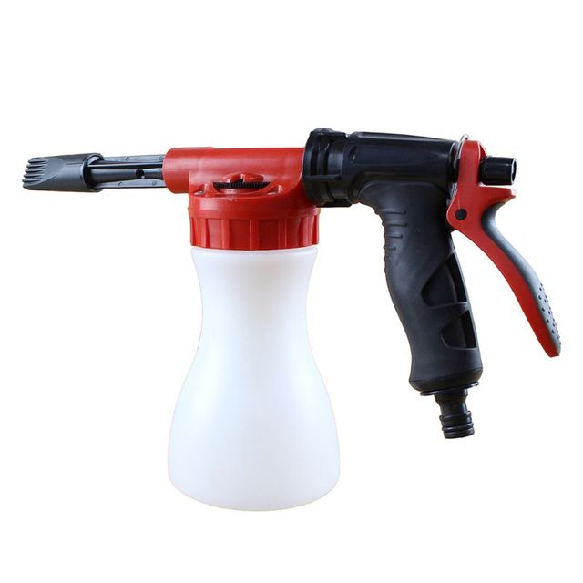1000ml Car Washing Foam Bottle  Car Cleaning Washing Snow Foamer Spray Lance Car Water Soap Shampoo Sprayer Spray Foam