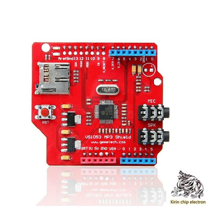 1PCS/LOT VS1053 Module VS1053 MP3 Recording Module Development Board (onboard Recording Function)