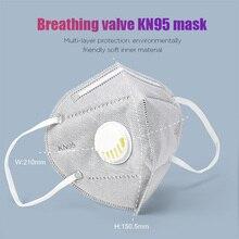 10pcs KN95 Mask Anti Pollution PM2.5 Mouth Mask Dust Respirator Masks Cotton Unisex N95 Mask Mouth Muffle Dropship