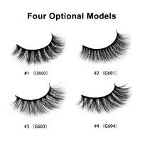 5 Pairs makeup false eyelashes maquiagem lashes natural 3D mink eyelashes fake lashes long makeup lashes extension for beauty
