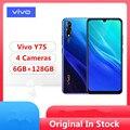Vivo Y7S смартфон с 5,5-дюймовым дисплеем, процессором Helio P65, ОЗУ 6 ГБ, ПЗУ 9,0 ГБ, 16 МП, Android 6,38