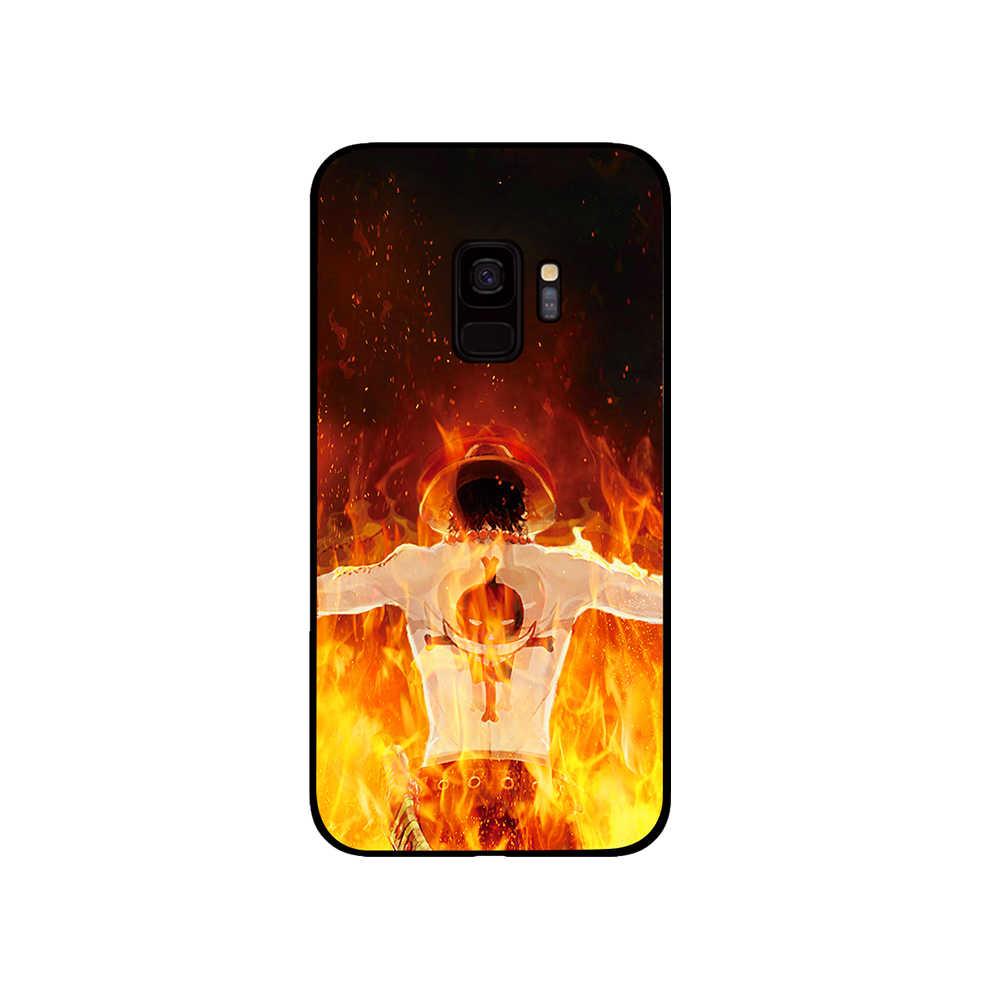 חתיכה אחת אייס קומיקס טלפון מקרה לסמסונג גלקסי A6 A8 בתוספת A7 A9 2018 A5 2017 18 J530 J7 j8