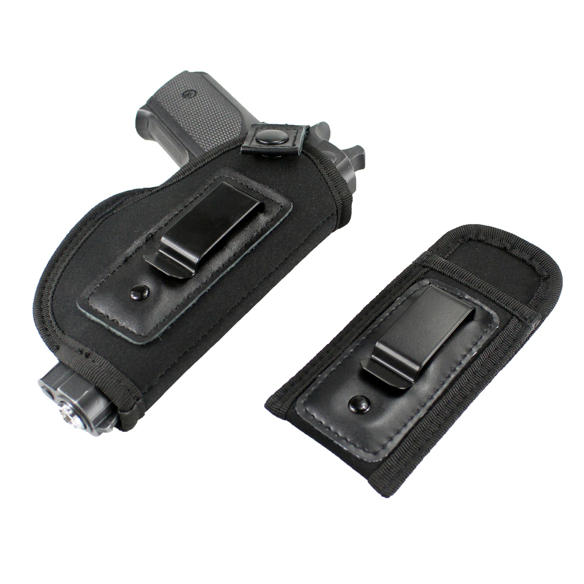 Tactical Concealed Carry Universal Neoprene IWB Holster with Extra Mag Holster for Right Hand-in Holsters from Sports & Entertainment