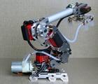 6DOF mechanical arm air pump aluminum alloy industrial robot model six axis robot arduino suction cup