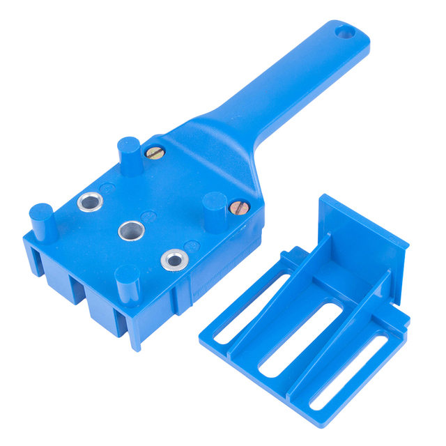 Outils de menuiserie goupille de travail du bois gabarit convient à 6 8 10mm forets trou de soudage bricolage outils de travail du bois Guide de perçage du bois outil à main