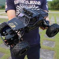 1:16 28cm 4WD RC coches versión actualizada 2,4G Radio Control coches RC de juguete Buggy camiones de alta velocidad todoterreno juguetes para niños