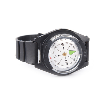 2018 High Quality Hiking Watch Black Band Tactical Wrist Compass For Military Outdoor Survival Camping 5