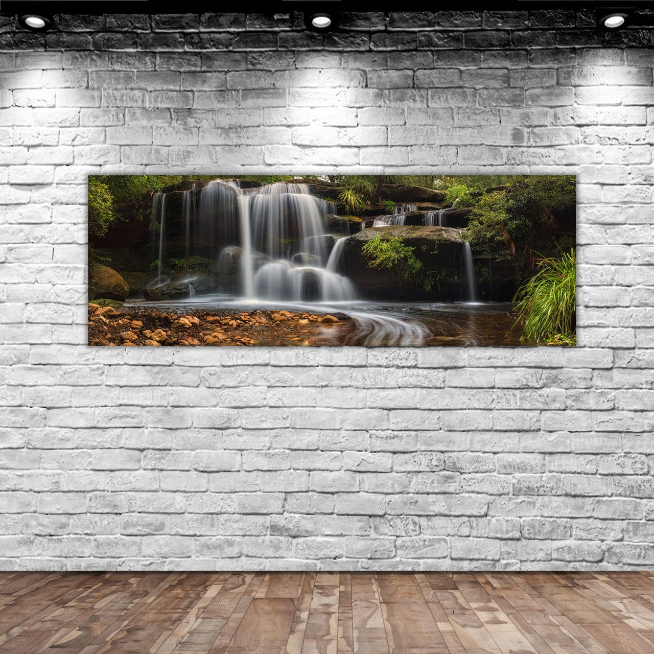 BK Home Landscape Panorama Canvas Table 100x35cm-6 Modern Convenient Reliable Decoration Gift Quality Design Simple Vicinity