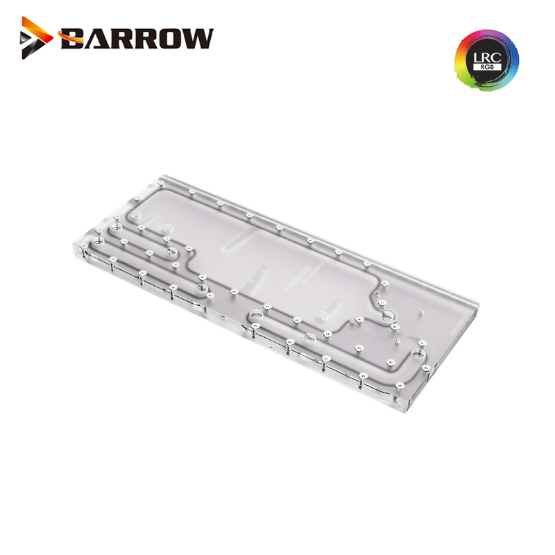 15mm Acrylic Barrow G1//4 Female to Female Extender Fitting Clear