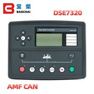 Image 1 - generator spare parts ats controller deep sea  genset engine deepsea controller 7320 DSE7320