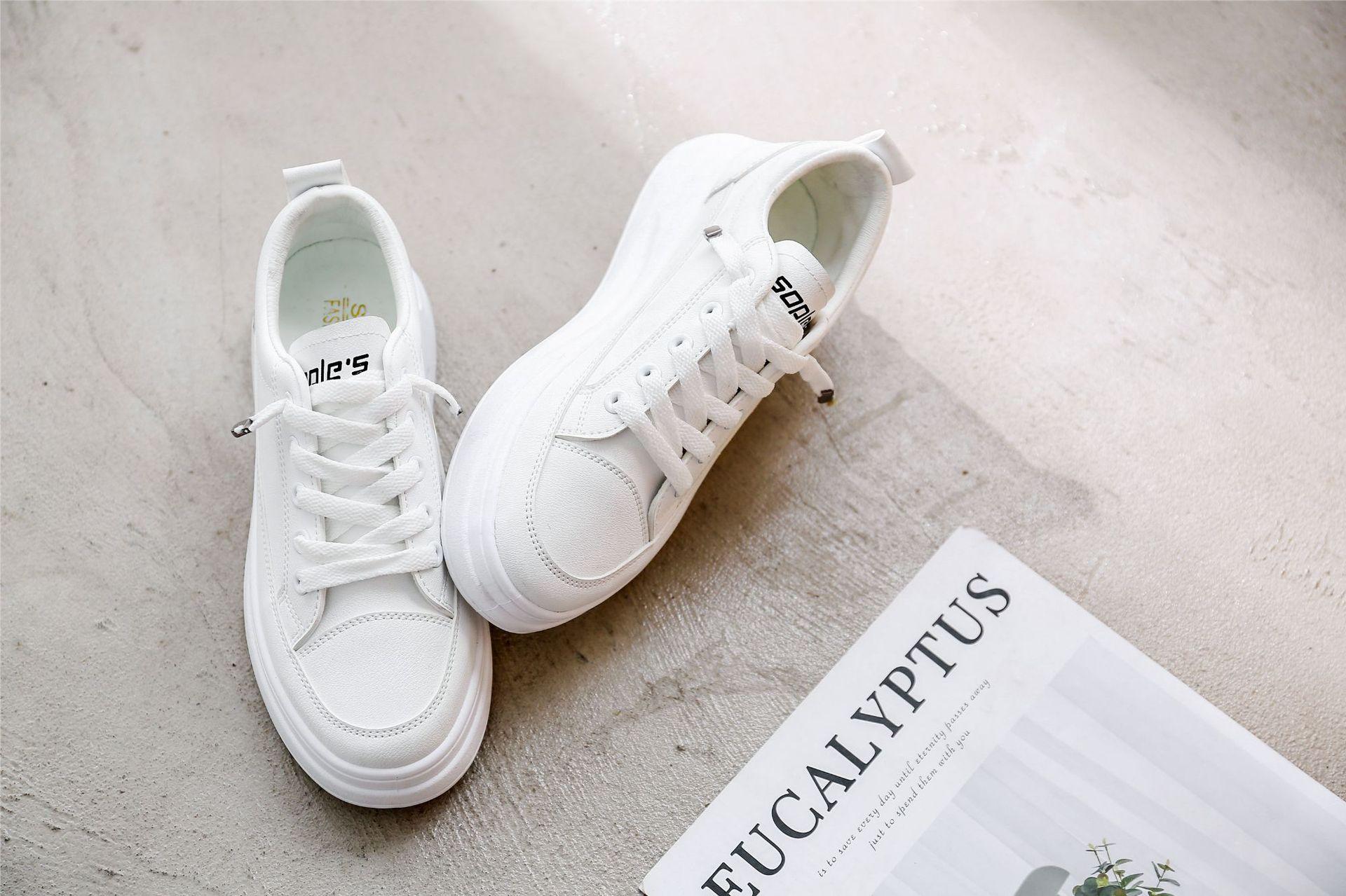 Swyivy sapatos casuais das mulheres tênis plataforma