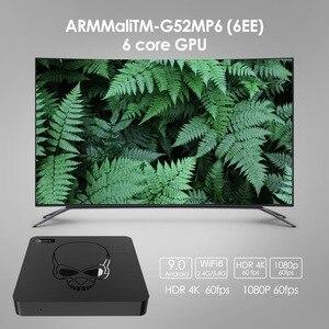 Image 4 - Beelink GT King WiFi 6 TV BOX Android 9.0 Amlogic S922X Quad core 4GB 64GB TVBOX BT4.1 1000M LAN Android TV  SET TOP BOX