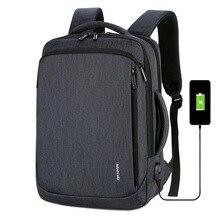 WENYUJH Mens Laptop Backpack Male Backpacks Business Notebook Mochila Waterproof Back Pack USB Charging Bags Travel Bagpack