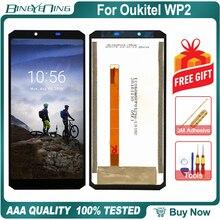 100% nouveau Original pour Oukitel WP2 LCD et écran tactile numériseur écran daffichage module accessoires assemblée remplacement