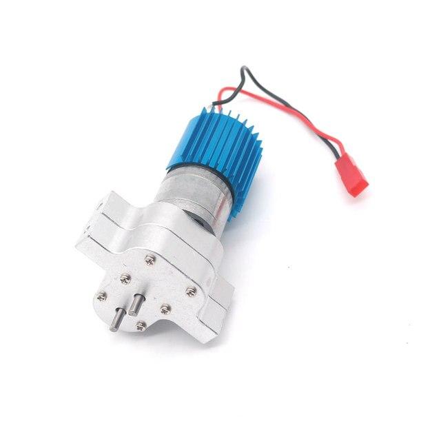 アップグレード金属ギアボックスとモーターためのランダムな色を wpl 1 C14/C24 jjrc Q65 rc カーパーツ