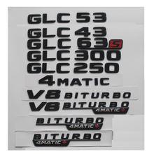 Блеск черный для mercedes benz x253 glc43 glc53 glc63 s amg