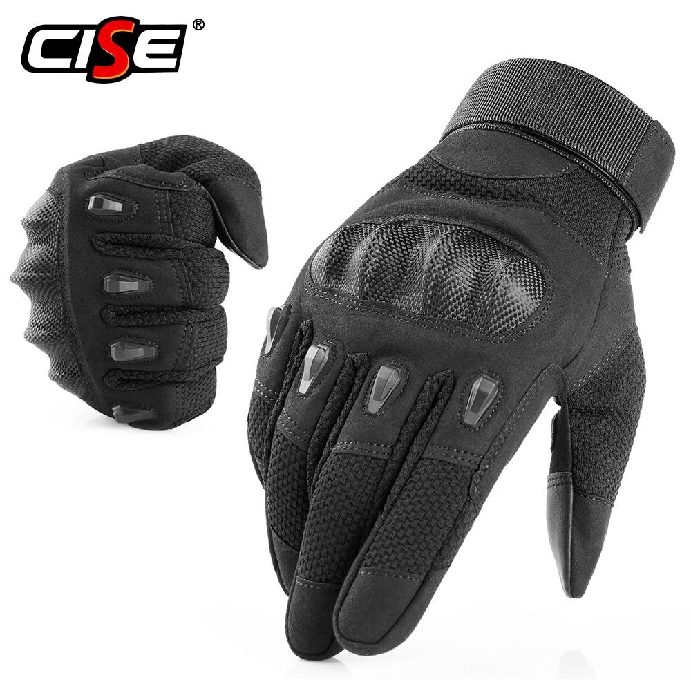Touchscreen Assault Motorcycle Hard Knuckle Full Finger Gloves Driving Motocross Motorbike Racing Ridding Biker Moto Women Men
