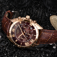 Relogio Masculino LIGE High Quality Mens Watches Fashion Luxury Chronog
