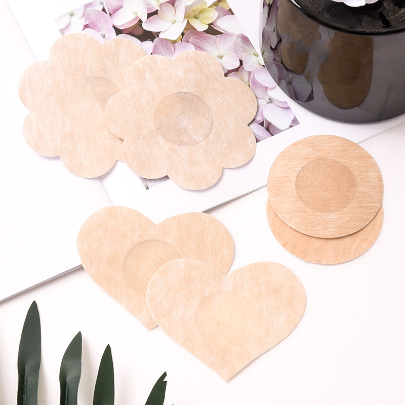 CINOON 3 Types Sxey Women Adhesive Nipple Covers Petals Breast And Sticker Emptied Chest  Ladies Intimate Accessories 5pcs/set