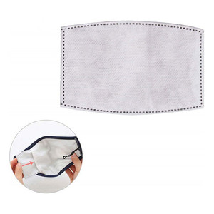 Image 2 - Cotton Breath Valve Mouth  Mask Cloth Activated carbon filter 2 filters