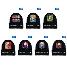 Costume Hat Beanie Hisoka Anime Hunter-X-Hunter Cap Cosplay Killua Adult Winter Print